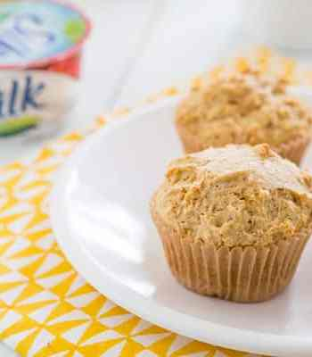 Vegan Meyer Lemon Vanilla Muffins Recipe