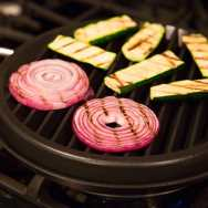 Grilling Vegetables on Stephen's Stovetop BBQ