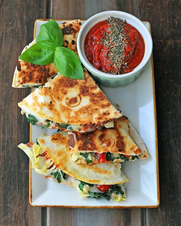 Artichoke, Kale & Mozzarella Melt