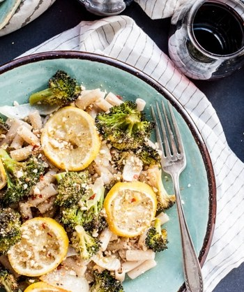 Roasted Broccoli and Lemon Pasta Recipe