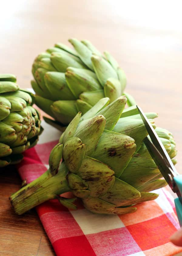 how to prepare, cook, and eat artichokes