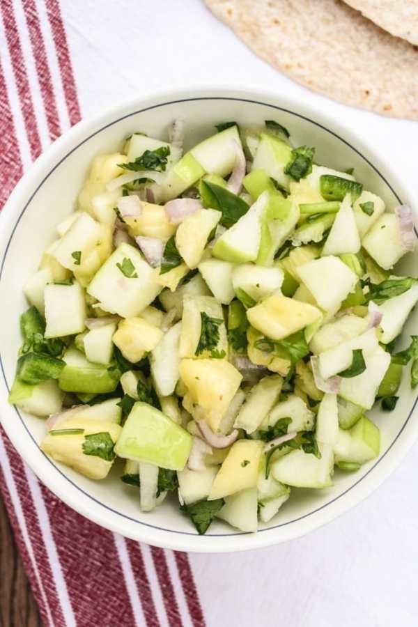 Apple & Pineapple Salsa