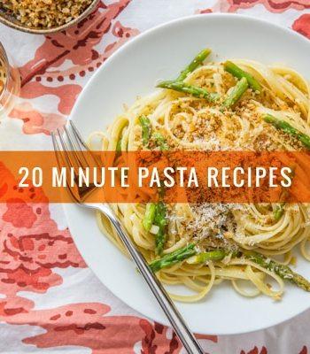 15 Twenty-Minute Pasta Recipes