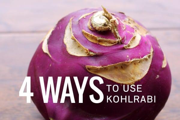 4 Ways to Use Kohlrabi