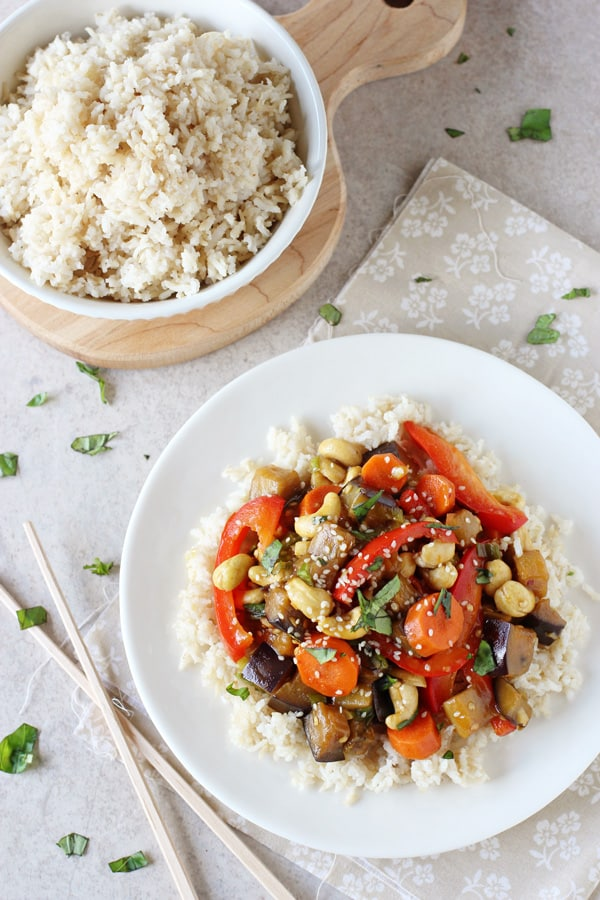 End-of-Summer Veggie Stir Fry