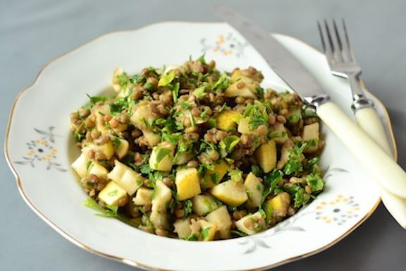 Winter Potato & Lentil Stew