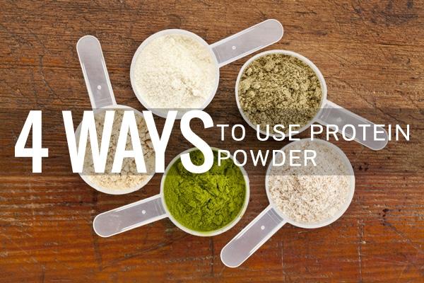4 Ways to Use Protein Powder