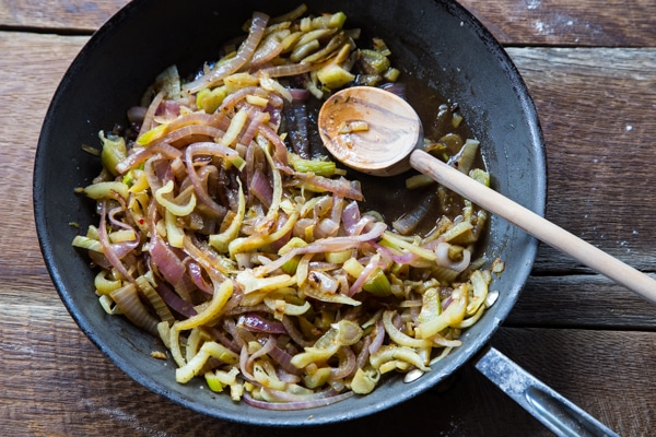 Caramelized Onions & Fennel