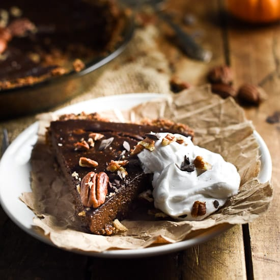 Chocolate Pumpkin Pie