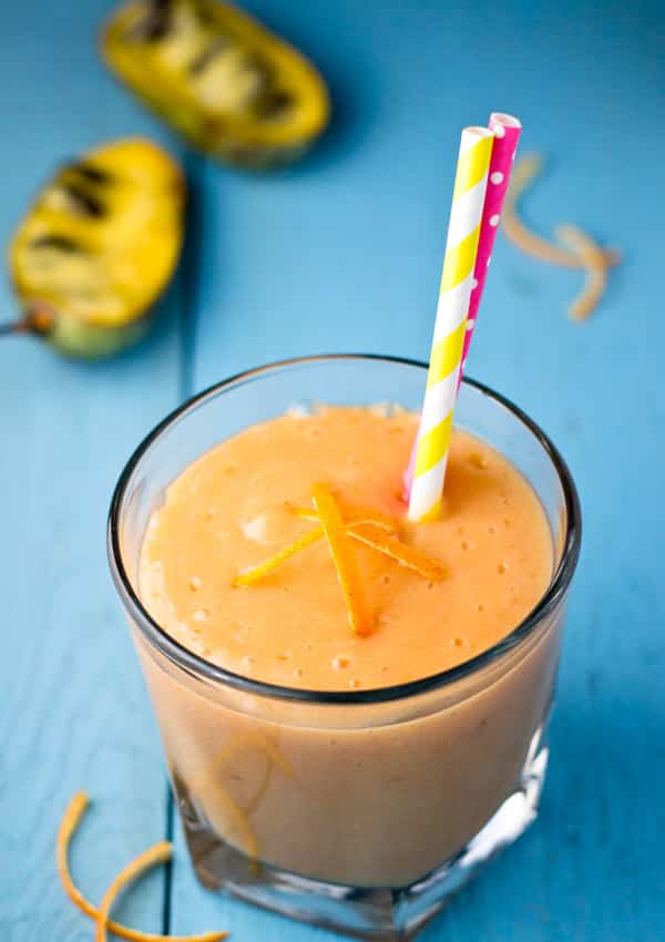 Creamy Citrus Pawpaw Smoothie