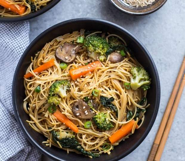 15 Asian Inspired Vegetarian Noodle Dishes