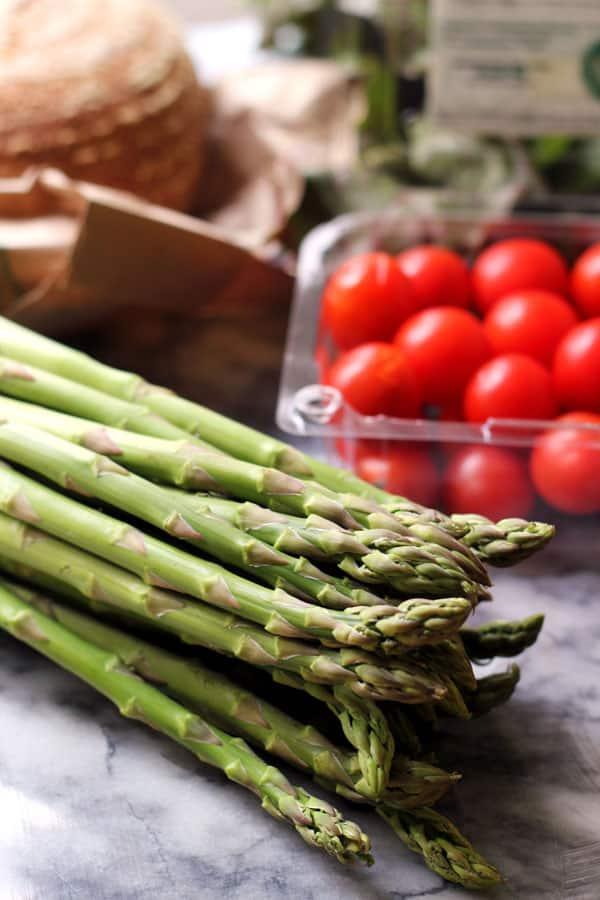 Spring Vegetable Strata