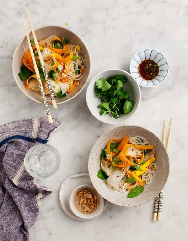 Mango & Daikon Glass Noodle Salad