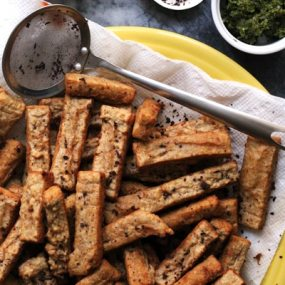 Middle Eastern Spiced Chickpea Fries