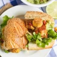 Spicy Cornmeal-Crusted Tofu Sandwiches
