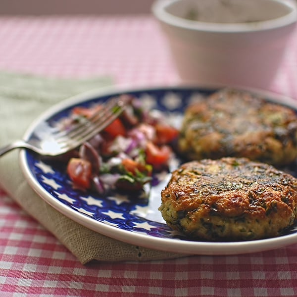 Herb and Mozzarella Fritters