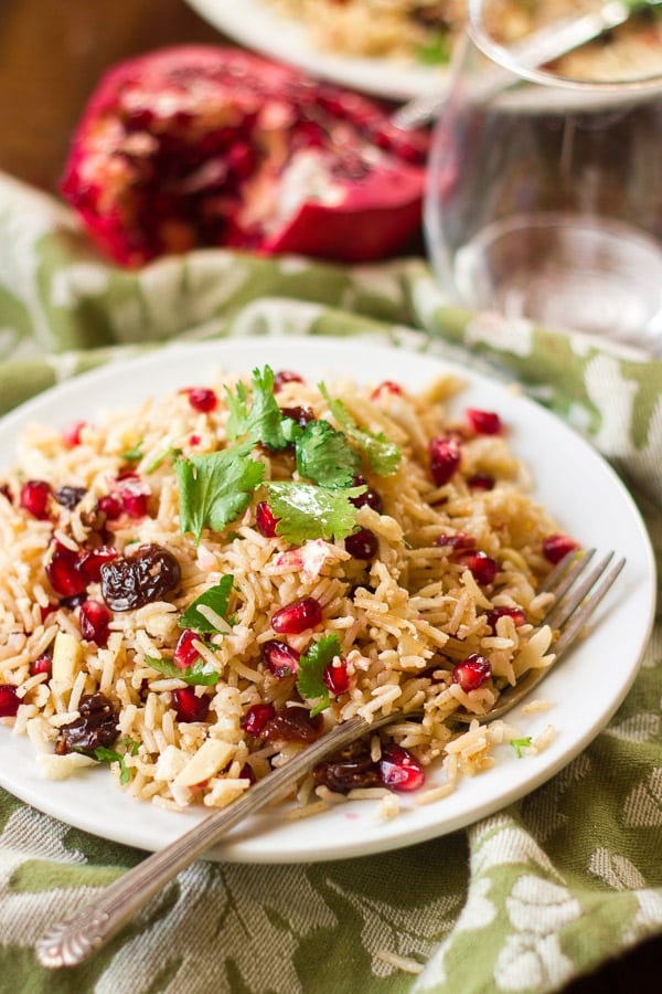 Basmati & Cauliflower Rice Pilaf with Fruit & Nuts