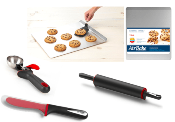 t-fal baking products cookies holidays