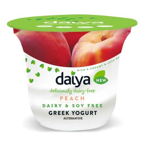 daiya peach dairy free yogurt alternative