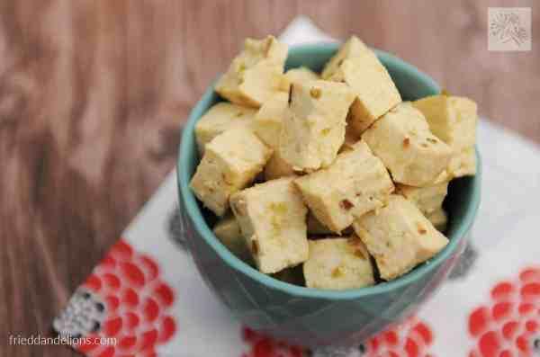 Baked Tofu Feta