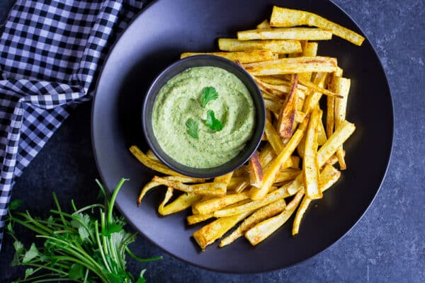 Curried Parsnip Fries-9092