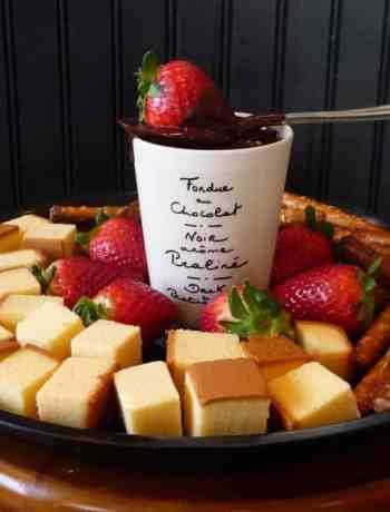 vegan fondue