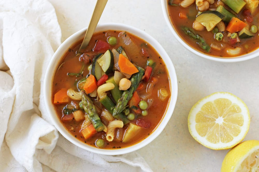 Spring Minestrone Soup