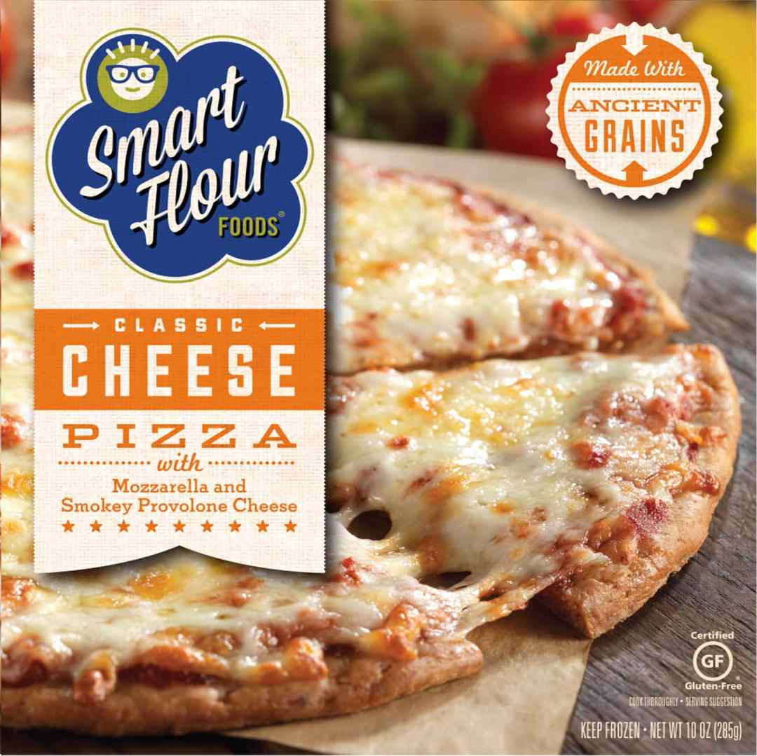 smart flour foods gluten free cheese pizza