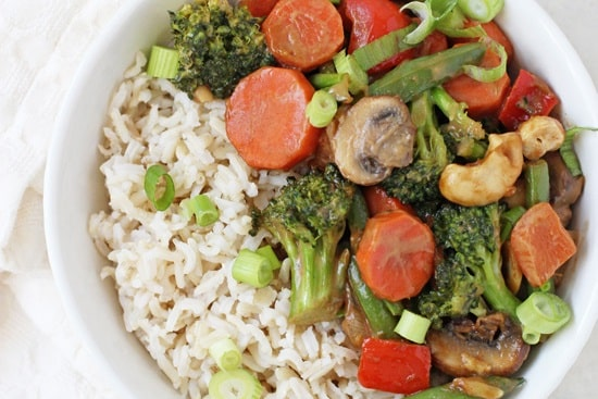 Peanut_ginger_vegetable_stir_fry