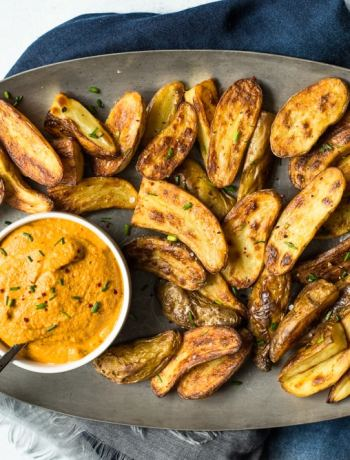 Fingerling Potatoes with Chipotle Aioli