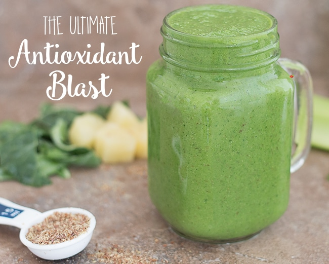 20 Healthy Green Smoothie Recipes: Ultimate Antioxidant Smoothie