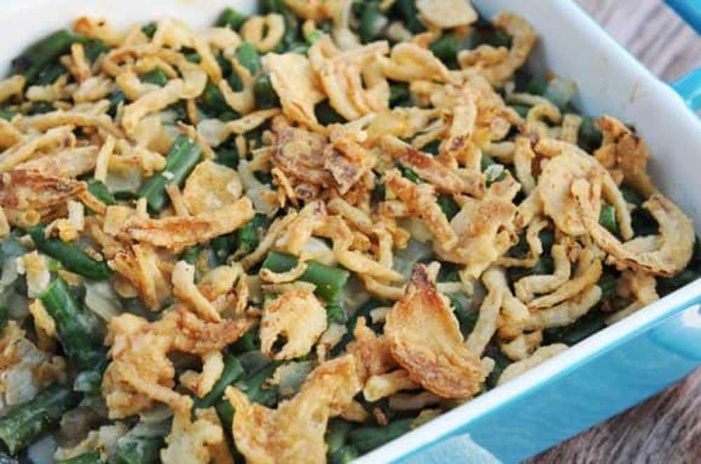 17 of the Best Vegetarian Casseroles: Green Bean Casserole