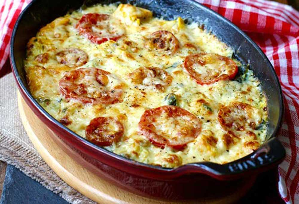 17 of the Best Vegetarian Casseroles: Zucchini Tomato Gratin