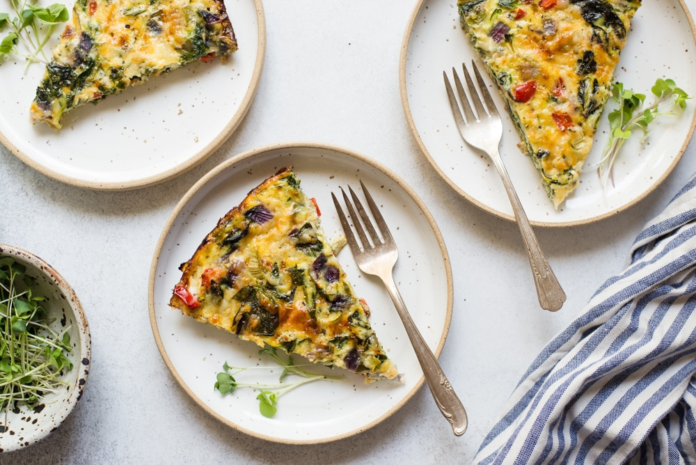 Summer Veggie and Egg Bake
