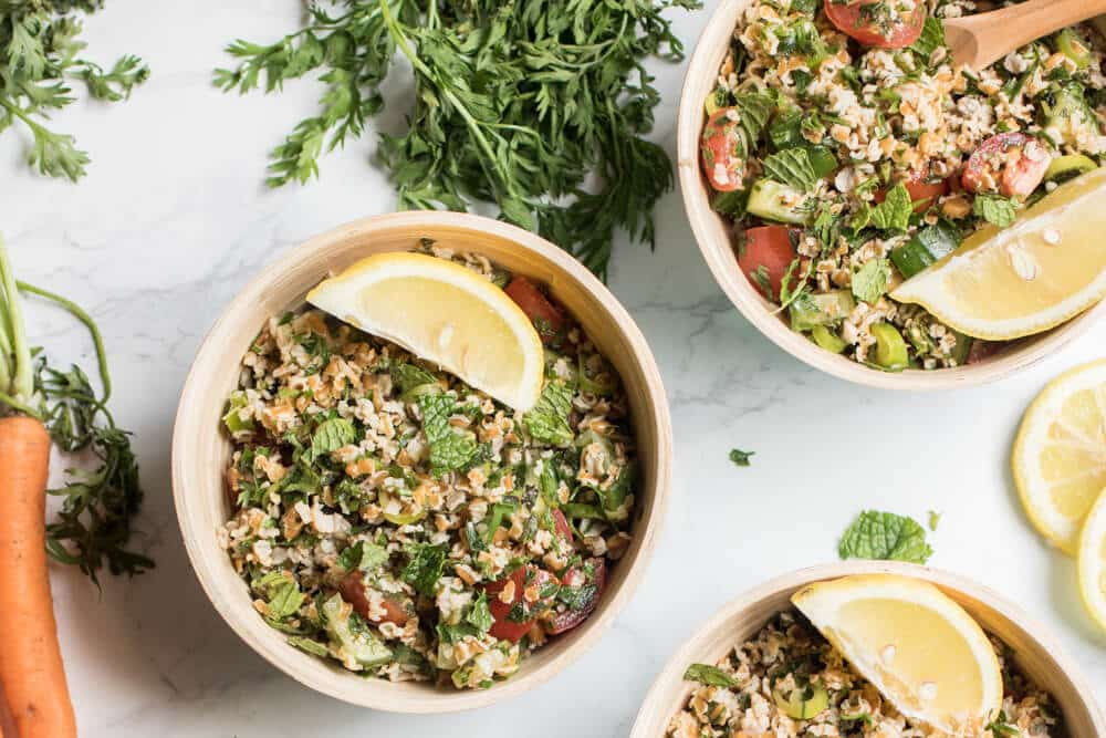 What To Do With Carrot Greens,10 Inspiring Ideas: Carrot Top Tabouli Salad