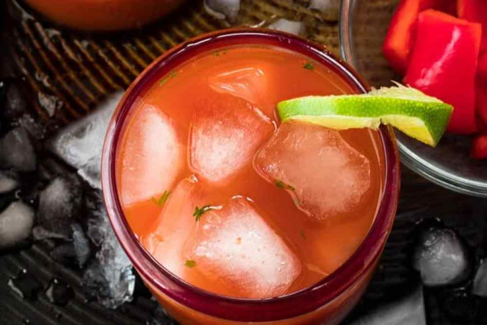 Refreshing Margarita Recipes to Cool You Down This Summer: Salsa Sunset A Savory Margarita