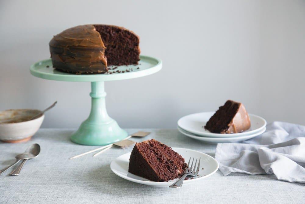 25 Drool-Worthy Chocolate Cake Recipes: Vegan Chocolate Birthday Cake