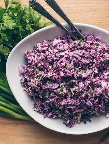15 Coleslaw Recipes to Make This Summer: Vegan Mexican Coleslaw