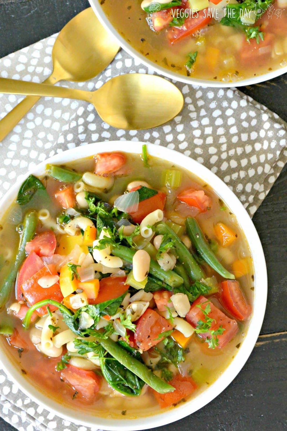 15 Delicious Minestrone Soup Recipes: Vegan Minestrone Soup