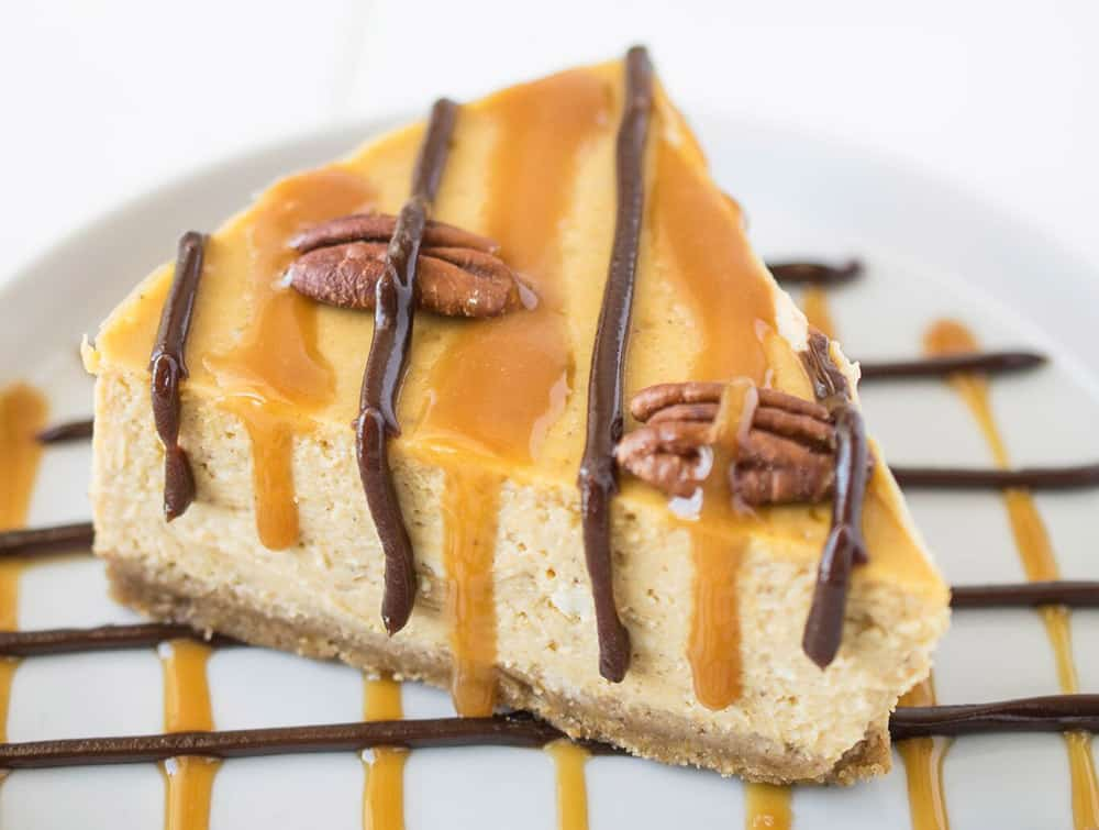 15 Recipes That Take New York Cheesecake to the Next Level: Pumpkin Turtle Cheesecake