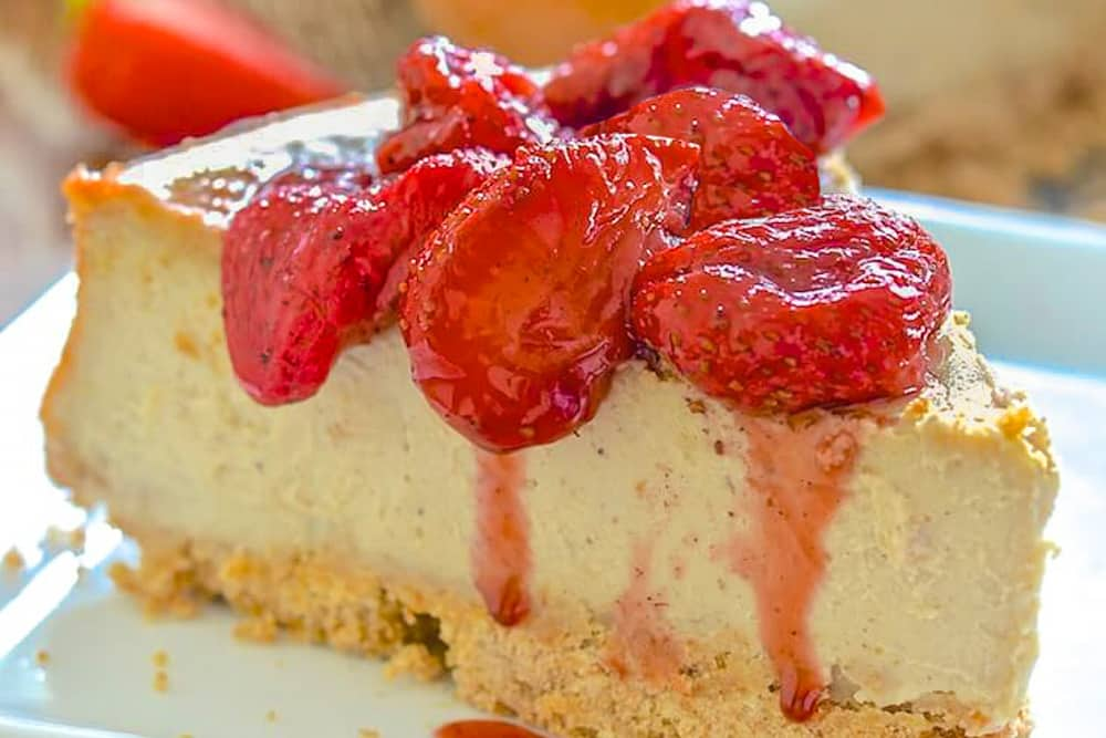 15 Recipes That Take New York Cheesecake to the Next Level: Vegan New York Cheesecake