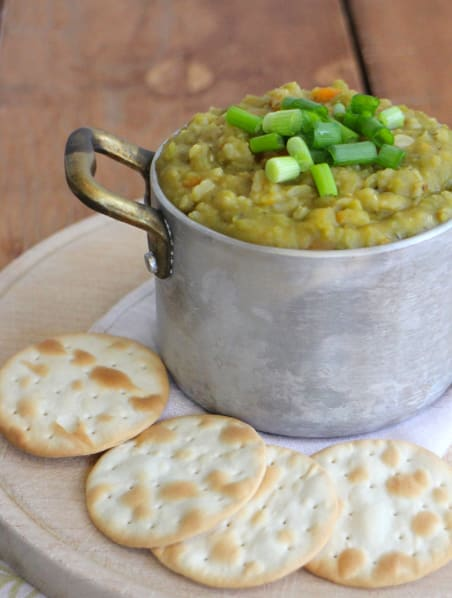17 Cozy Split Pea Soup Recipes to Try This Fall: Homestyle Vegan Split Pea Soup