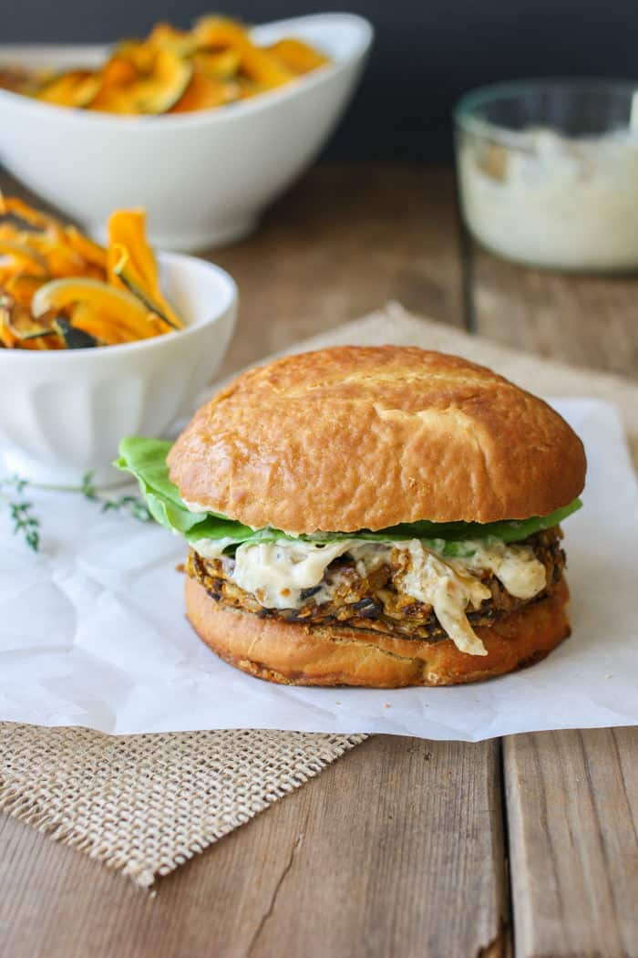 20 Savory Apple Recipes to Try This Fall: Butternut Squash Apple Burgers