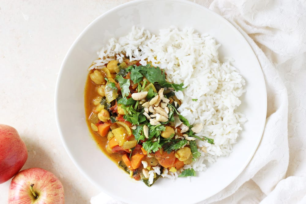 Curry with Apples