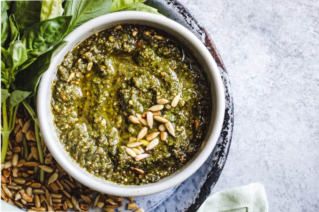 15 Creative Pesto Recipes You Need to Try: Sunflower Seed Gouda Pesto