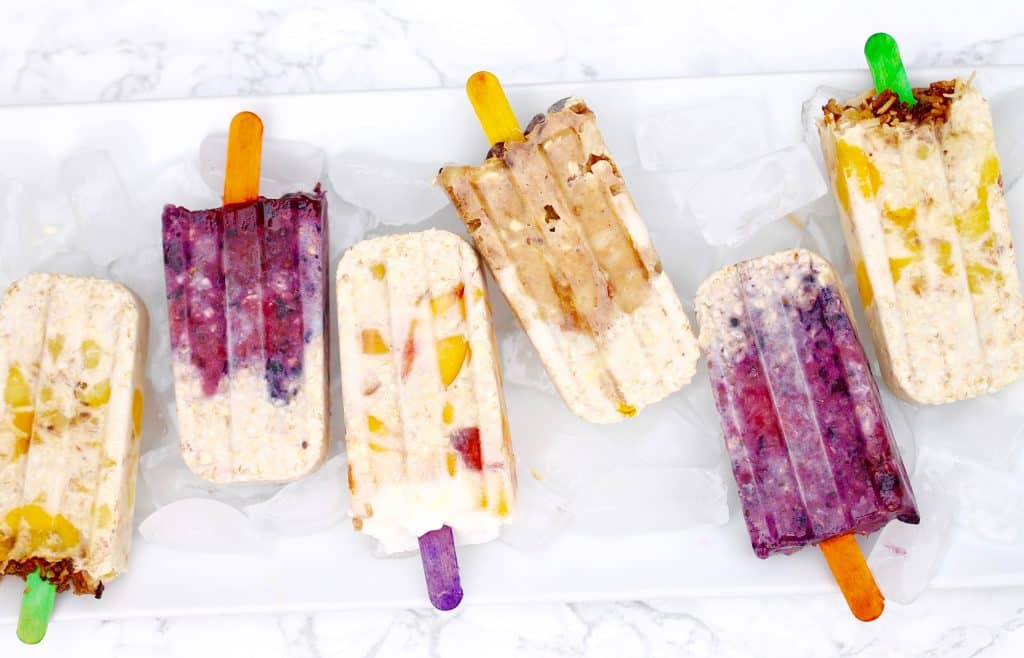 Best Vegetarian Freezer Cooking Breakfasts to Start Your Day Right: Overnight Oats Popsicles