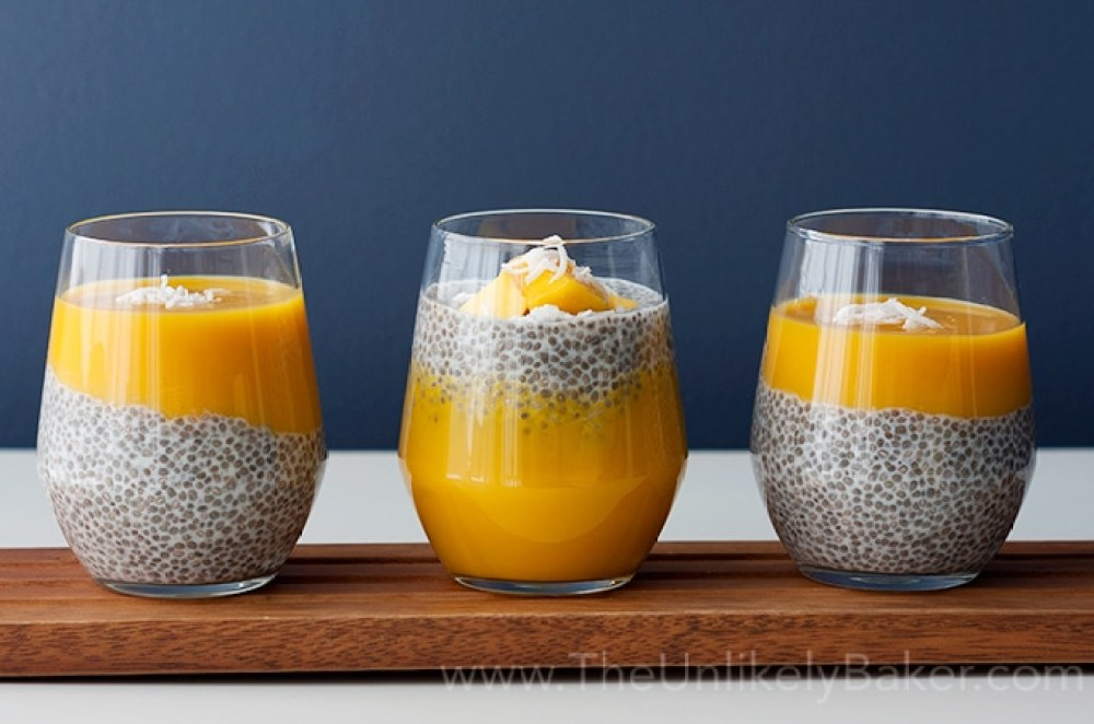 18 Chia Seed Pudding Recipes Everyone Will Love: Mango Chia Pudding