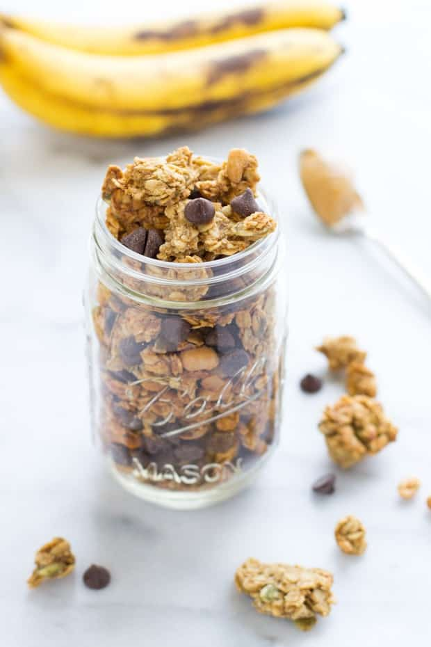 18 Irresistible Recipes for Homemade Granola: Peanut Butter Chocolate Chip Granola