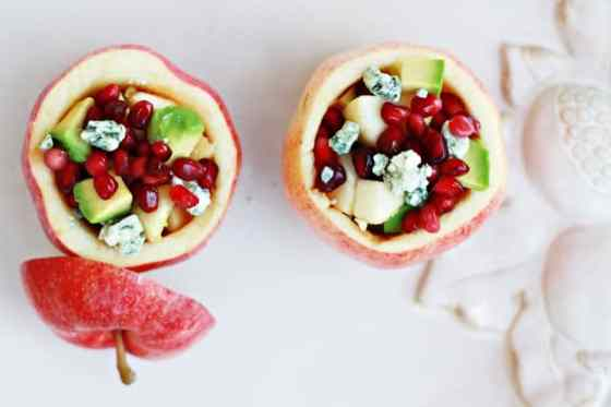 Savory Apple Recipes to Try This Fall: Harvest Apple Salad with Pomegranate