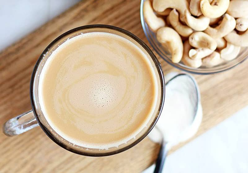 15 Creamy & Dreamy Vegan Coffee Creamer Recipes: Cashew Coffee Creamer